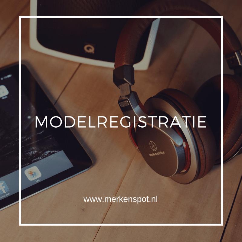 Modelregistratie