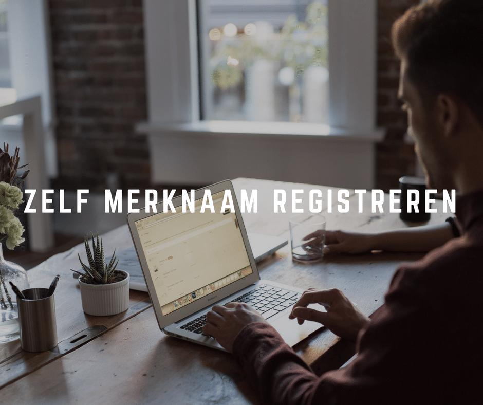 Zelf merknaam registreren