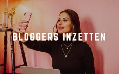 Bloggers inzetten
